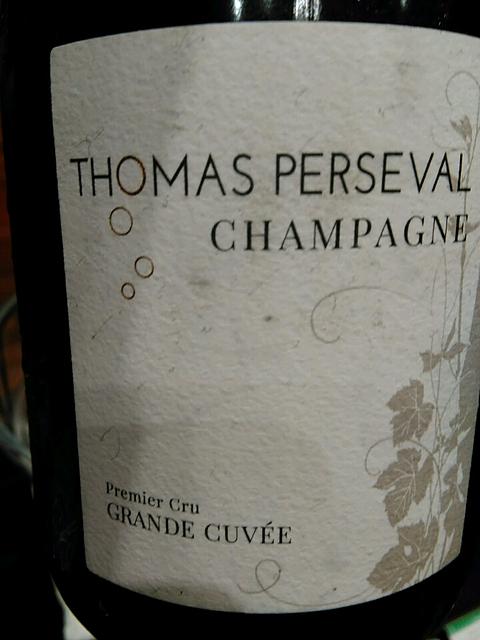 Thomas Perseval Brut Grande Cuvé(トーマ・ペルスヴァル ブリュット グラン・キュヴェ)