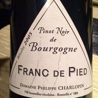 Dom. Philippe Charlopin Parizot Franc de Pied Pinot Noir de Bourgogne