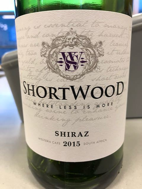 Shortwood Shiraz