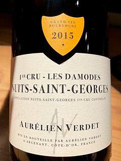 Aurélien Verdet Nuits Saint Georges 1er Cru Les Damodes