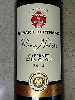 Gérard Bertrand Prima Nature Cabernet Sauvignon