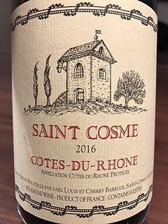Saint Cosme Côtes du Rhône Rouge