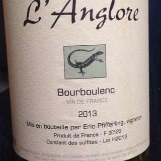 Dom. l'Anglore Bourboulenc