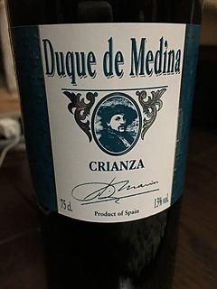 Duque de Medina Crianza(ドュケ・デ・メディナ クリアンサ)
