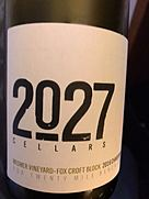 2027 Cellars Wismer Vineyard Fox Croft Block Chardonnay(2016)