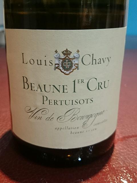 Louis Chavy Beaune 1er Cru Pertuisots(ルイ・シャヴィー ボーヌ プルミエ・クリュ ペルテュイゾ)