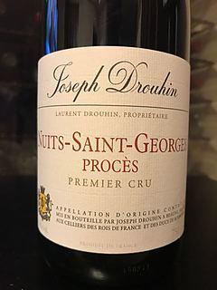 Joseph Drouhin Nuits Saint Georges 1er Cru Procès(ジョゼフ・ドルーアン ニュイ・サン・ジョルジュ プルミエ・クリュ ポワゼ)