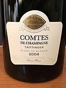 テタンジェ コント・ド・シャンパーニュ ブラン・ド・ブラン ミレジメ(2004)