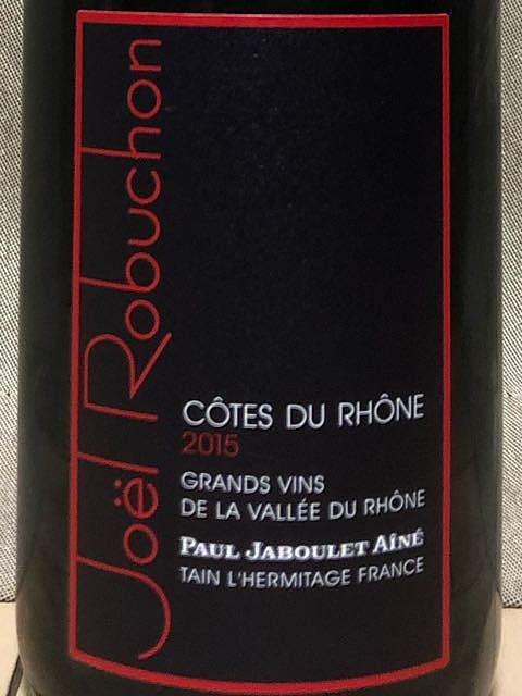 Paul Jaboulet Aîné Joël Robuchon Collection Côtes du Rhône Rouge