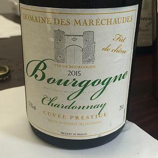 Dom. des Maréchaudes Bourgogne Chardonnay Cuvée Prestige Fût de Chêne