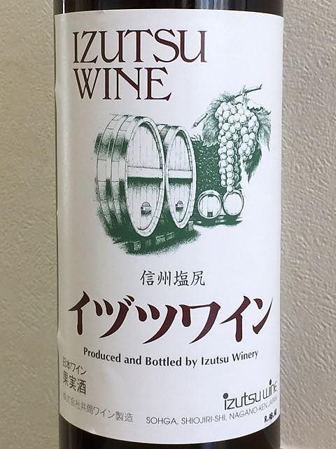 イヅツワイン スタンダード 赤