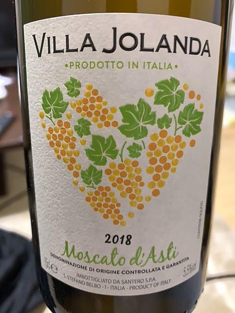 Villa Jolanda Moscato d'Asti