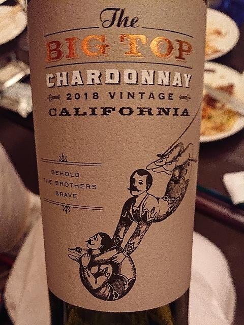 The Big Top Chardonnay(ザ・ビッグ・トップ シャルドネ)