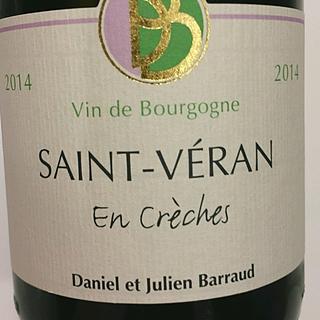 Daniel et Julien Barraud Saint Véran En Crèches(ダニエル・エ・ジュリアン・バロー サン・ヴェラン アン・クレシェ)