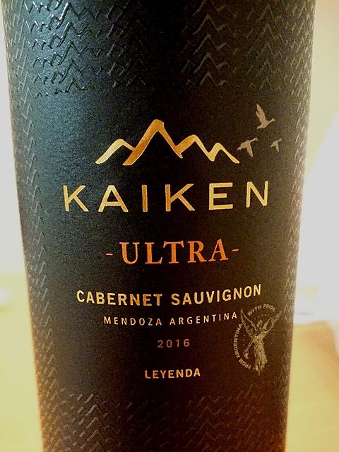 Kaiken Ultra Cabernet Sauvignon(カイケン ウルトラ カベルネ・ソーヴィニヨン)