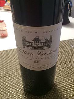 Ch. Constance Premières Côtes de Bordeaux(シャトー・コンスタンス)