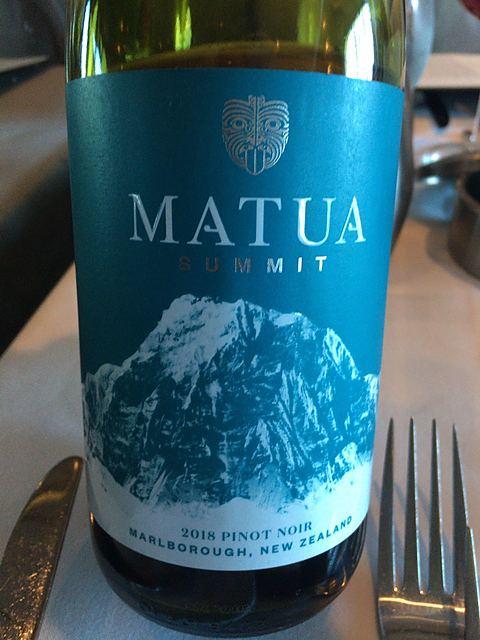 Matua Summit Pinot Noir(マトゥア サミット ピノ・ノワール)