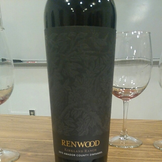 Renwood Kirkland Vineyard Zinfandel