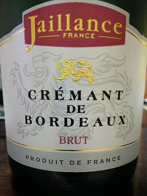 Jaillance Crémant de Bordeaux Brut