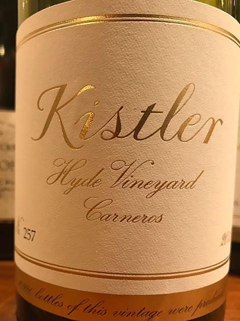 Kistler Hyde Vineyard Carneros Chardonnay
