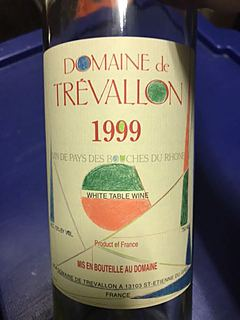 Dom. de Trévallon Blanc 1999