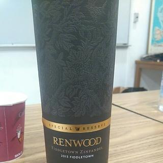 Renwood Special Reserve Fiddletown Zinfandel