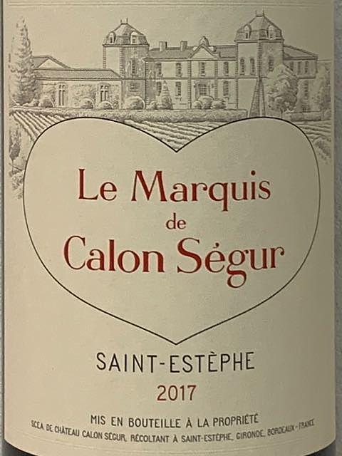 Le Marquis de Calon Ségur