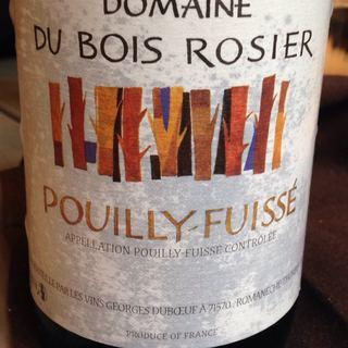 Dom. du Bois Rosier Pouilly Fuissé