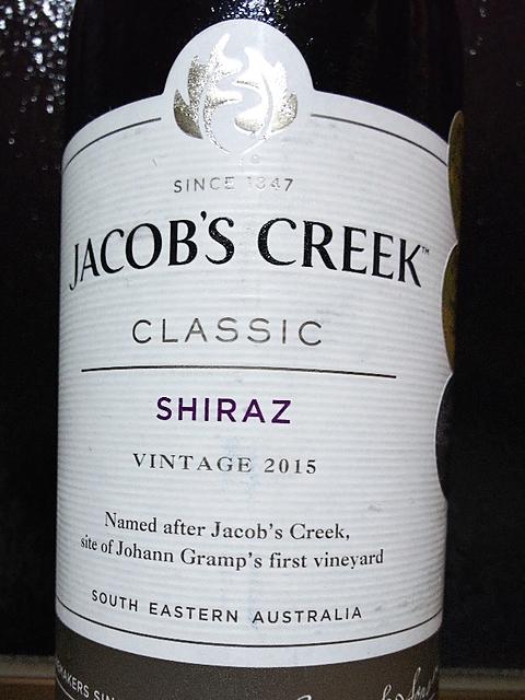 Jacob's Creek Classic Shiraz(ジェイコブス・クリーク クラシック シラーズ)