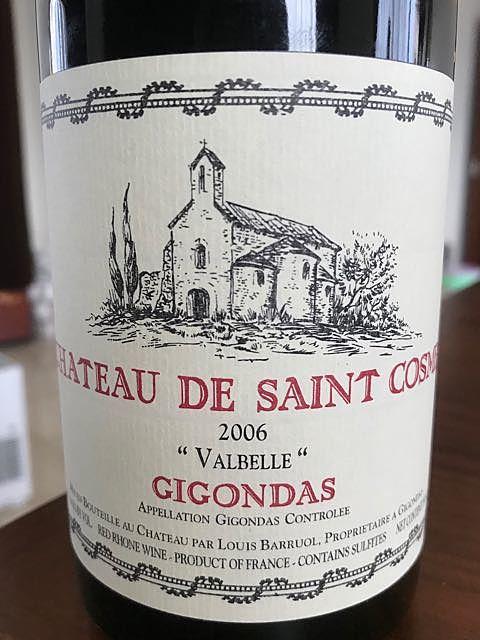 Ch. de Saint Cosme Gigondas Valbelle(シャトー・ド・サンコム ジゴンダス ヴァルベール)