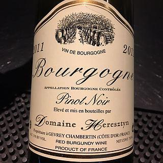 Dom. Heresztyn Bourgogne Pinot Noir