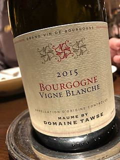 Maume by Dom. Tawse Bourgogne Vigne Blanche