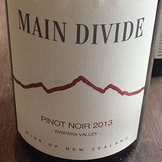 Main Divide Pinot Noir (Waipara Valley)(メイン・ディヴァイド ピノ・ノワール)