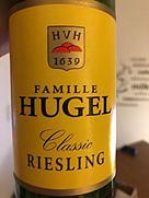 ヒューゲル クラシック リースリング(2016)