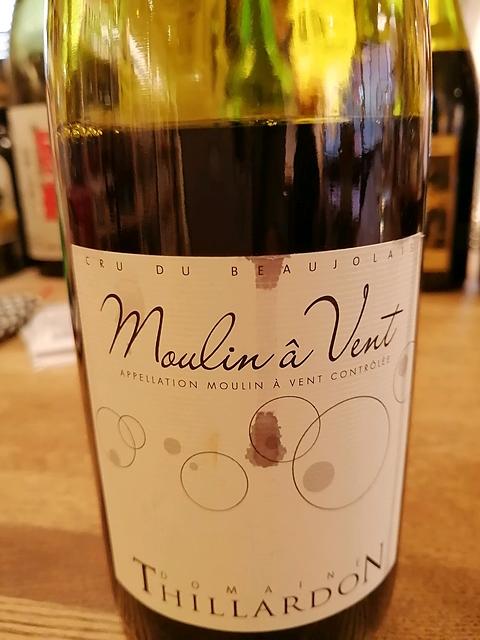Dom. Thillardon Moulin à Vent(ドメーヌ・ティラルドン ムーラン・ナ・ヴァン)