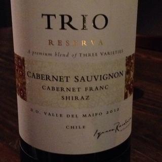 Concha y Toro Trio Cabernet Sauvignon Cabernet Franc Shiraz Reserva