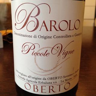 Erbaluna Barolo Piccole Vigne