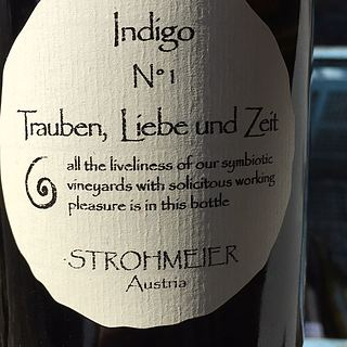Strohmeier Trauben, Liebe und Zeit Indigo N°1