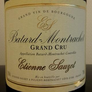 Etienne Sauzet Bâtard Montrachet Grand Cru