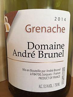 Dom. André Brunel Grenache
