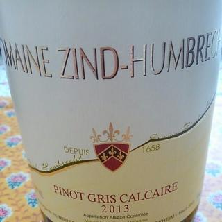Dom. Zind Humbrecht Pinot Gris Calcaire