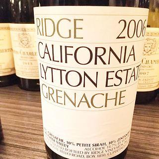 Ridge Lytton Estate Grenache 2006