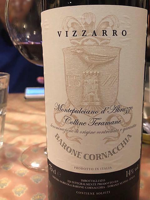 Barone Cornacchia Vizzarro Montepulciano d'Abruzzo Colline Teramane