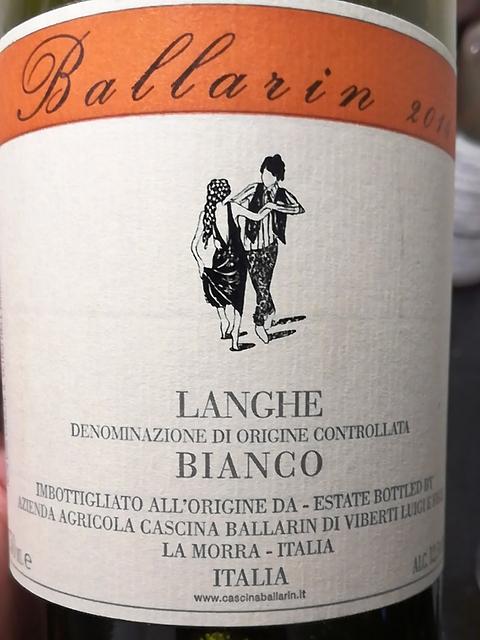 Cascina Ballarin Langhe Bianco(カッシーナ・バラリン ランゲ・ビアンコ)