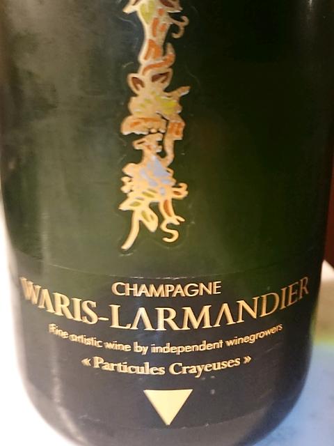 """Waris Larmandier Particules Crayeuses(ワリ・ラマンディエール パルティキュール・クレイユーズ"""")"""