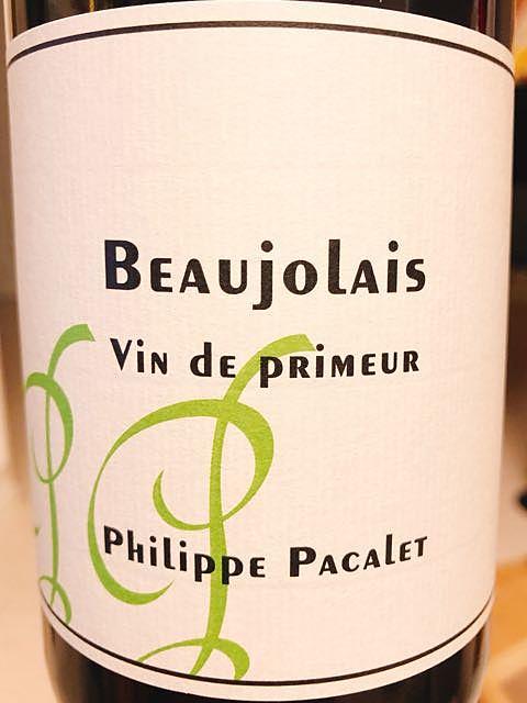 Philippe Pacalet Beaujolais Vin de Primeur Green Label