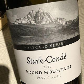Stark Condé Postcard Series Round Mountain Pinot Noir