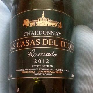 Las Casas del Toqui Chardonnay Reservado(ラ・カサ・デル・トキ シャルドネ レセルバード)