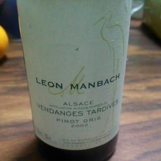 Leon Manbach Pinot Gris Vendanges Tardives