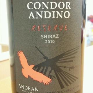 Condor Andino Reserve Shiraz
